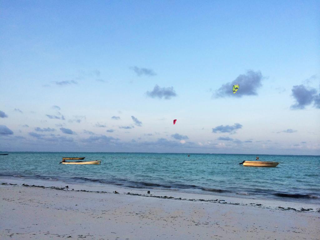 kite surf Zanzibar