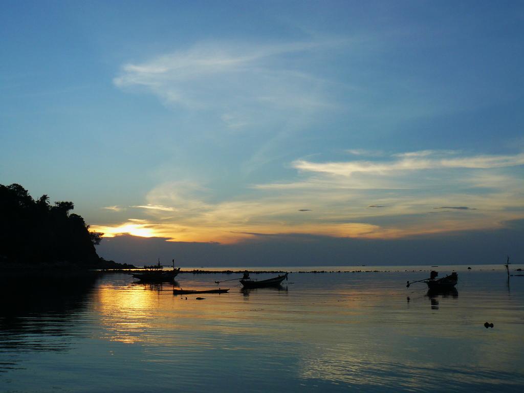 coucher de soleil Koh Pha Ngan