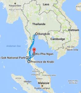 Itinéraire Thailande 15 jours