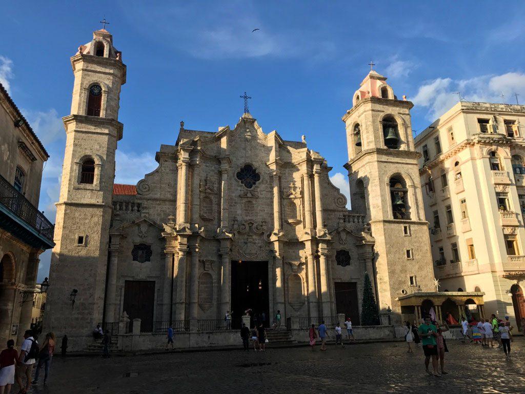 la havane place cathédrale