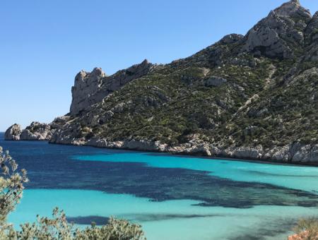 Balade en vélo à Marseille, à la découverte de la calanque de Sormiou