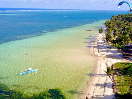 Voyage de rêve et trip kitesurf à Siargao aux Philippines