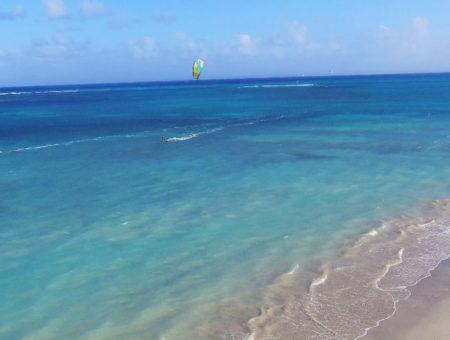 Les spots de kitesurf en Guadeloupe